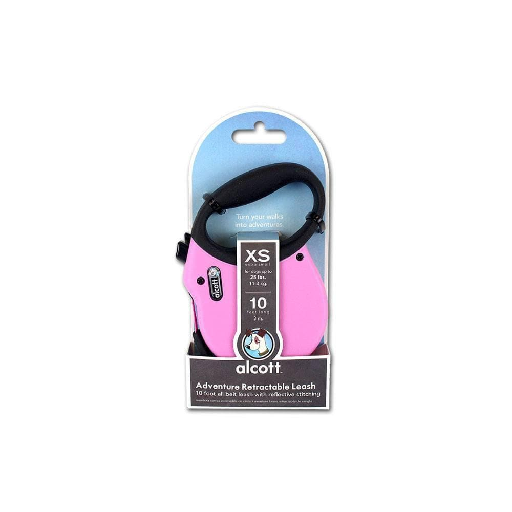 Adventure Retractable Leash Pink - Correa Retráctil Alcott® en Rosa