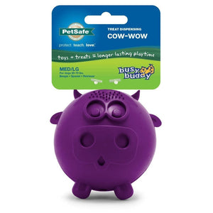 Juguete Para Perro - Vaca Busy Buddy® Fun Durable Cow-Cow de Petsafe®