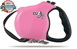Curli Retractable Leash Pink 5m - Correa Retráctil color Rosa de 5m