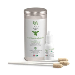 Sistema Natural de Limpiado de Oidos para Perros - All Natural Ear Cleansing System