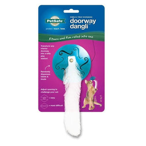 Juguete Para Gato Doorway Dangli Cat Toy De Pet Safe