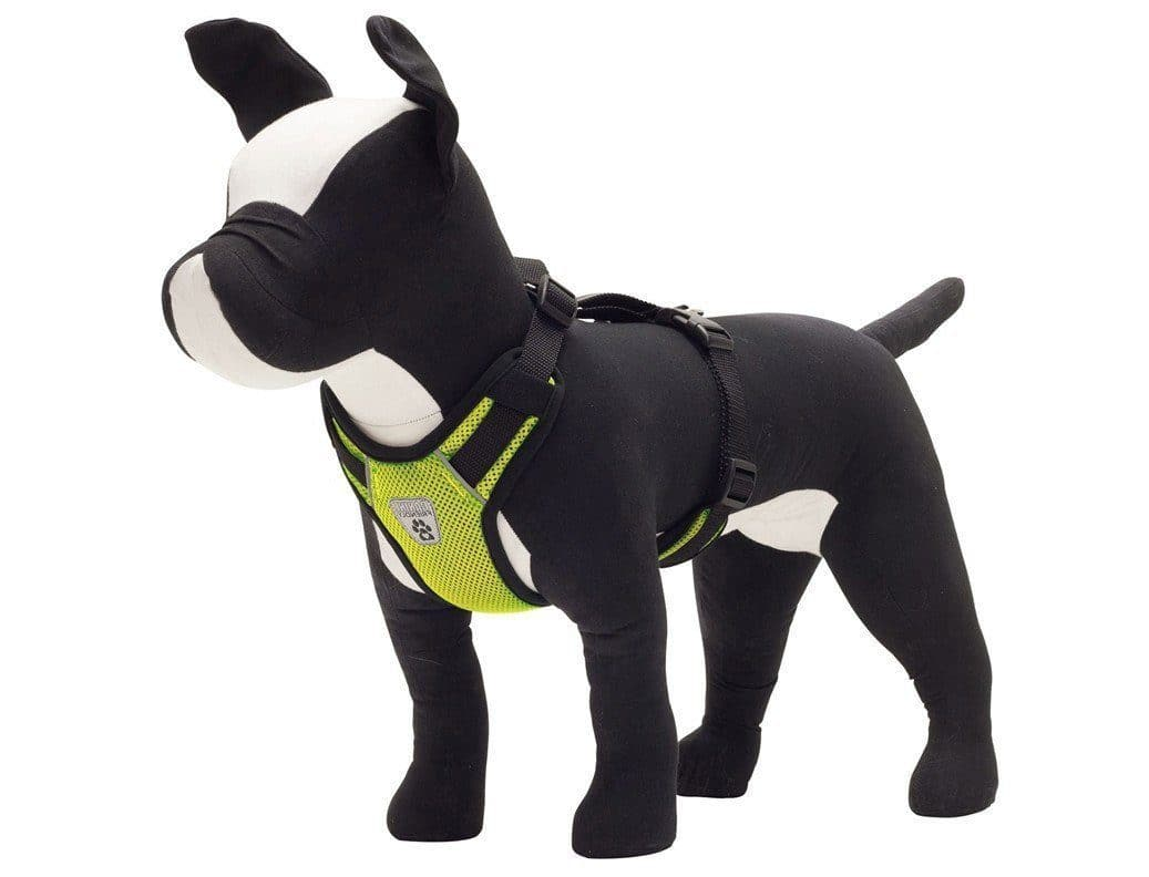 Pechera Ventilada V2 de Canine Friendly Verde- Vented Vest Harness V2