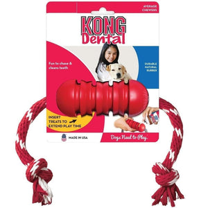Juguete Dental con cuerda - Dental Kong® Toy with Rope
