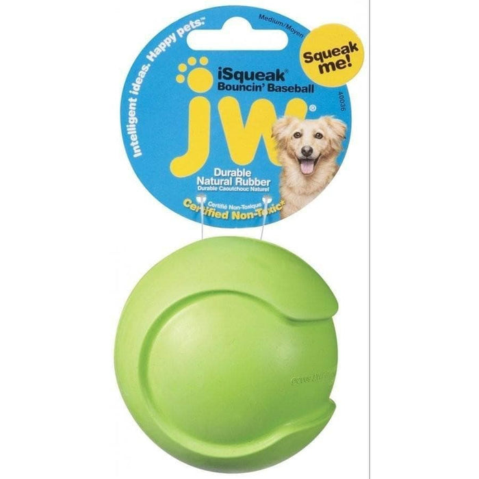 Pelota de Béisbol con Sonido - ISQUEAK BASEBALL DOG TOY