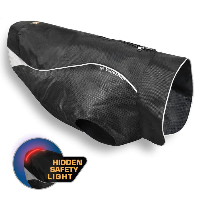 North Country Dog Coat With Led Safety Light - Chamarra para Perro - Impermeable con luz de seguridad de Kurgo