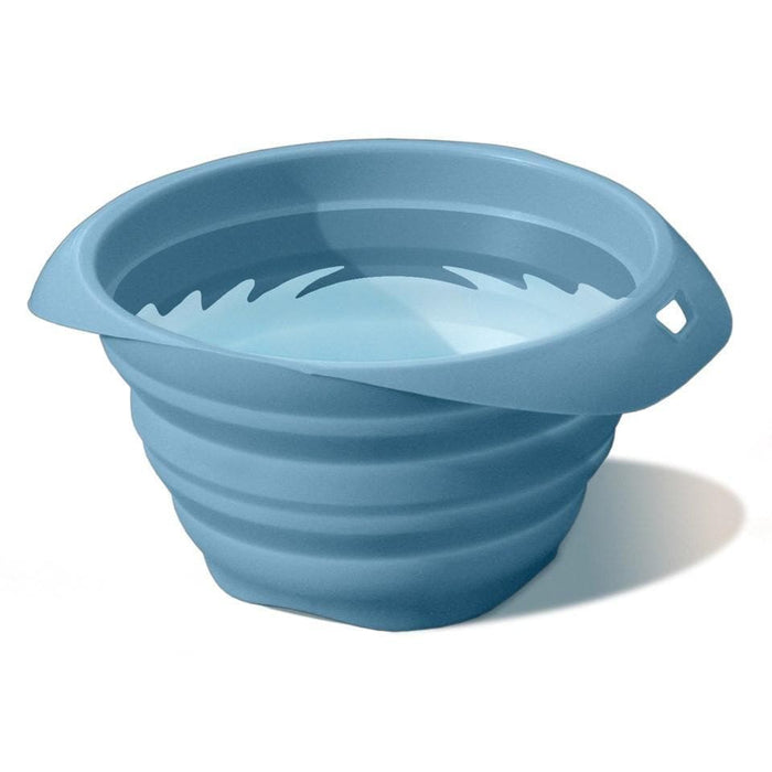 Plato Portatil Plegable Azul Kurgo Collaps a Bowl