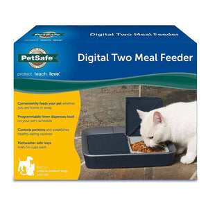 Digital 2-Meal Automatic Pet Feeder - Alimentador Automático Digital para Perro