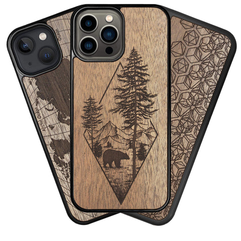 Personalized - Wood iPhone Case