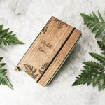 Botanic - Real Wood Notebook