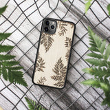 Wood iPhone Case XR Fern