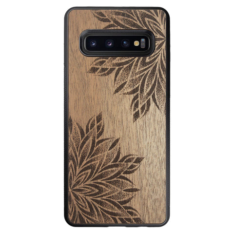 Wooden Case for Samsung Galaxy S10 Mandalas