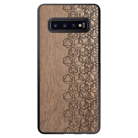 Wooden Case for Samsung Galaxy S10 Plus Geometry