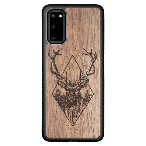 Wooden Case for Samsung Galaxy S20 Deer