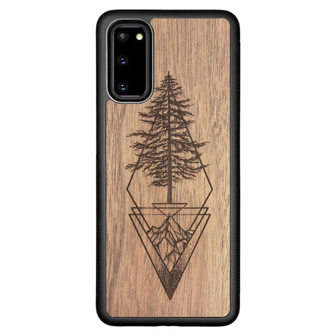 Wooden Case for Samsung Galaxy S20 Picea