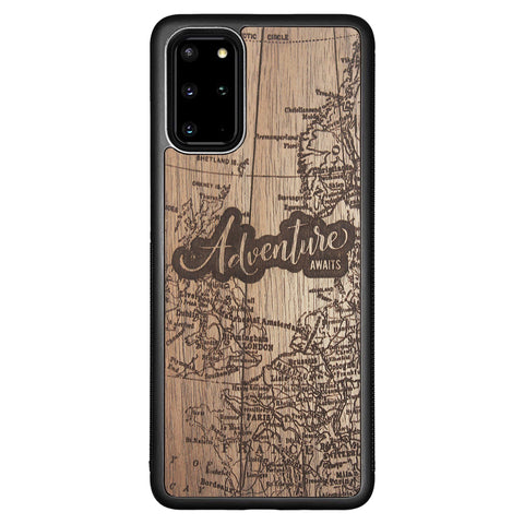 Wooden Case for Samsung Galaxy S20 Plus Adventure Awaits