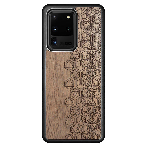 Wooden Case for Samsung Galaxy S20 Ultra Geometry