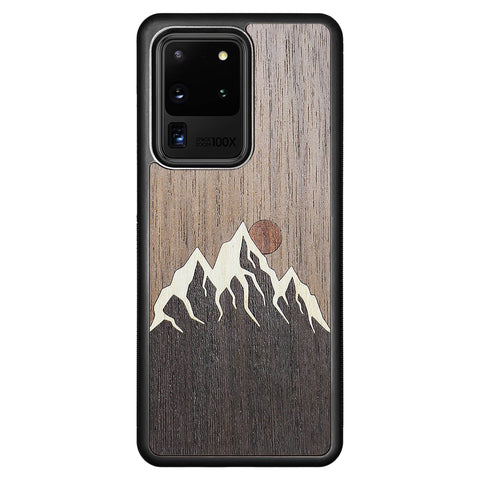Wooden Case for Samsung Galaxy S20 Ultra Mountain