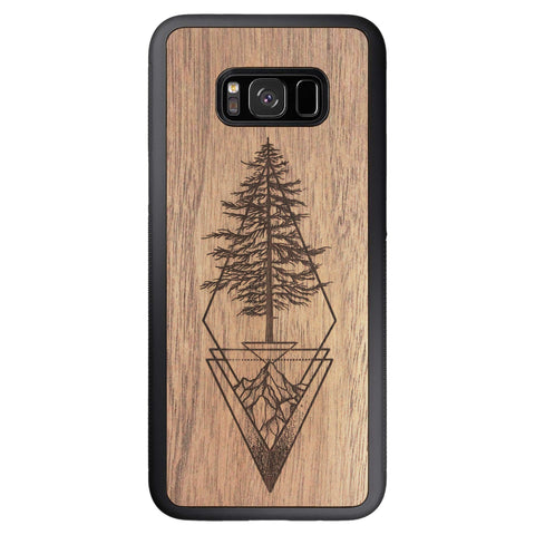 Wooden Case for Samsung Galaxy S8 Plus Picea
