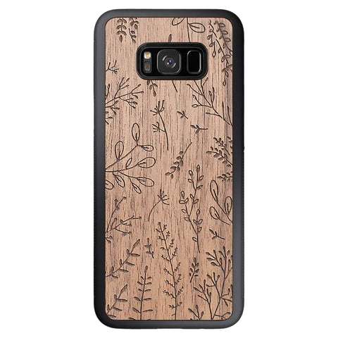 Wooden Case for Samsung Galaxy S8 Plus Plants