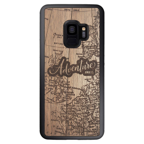 Wooden Case for Samsung Galaxy S9 Adventure Awaits