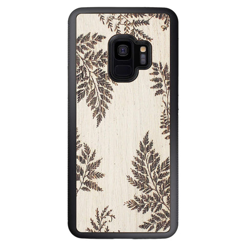 Wooden Case for Samsung Galaxy S9 Fern