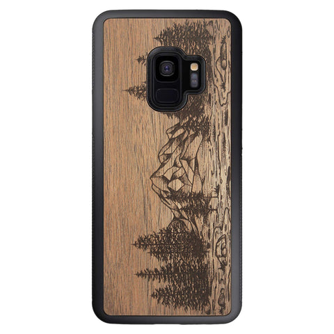 Wooden Case for Samsung Galaxy S9 Nature