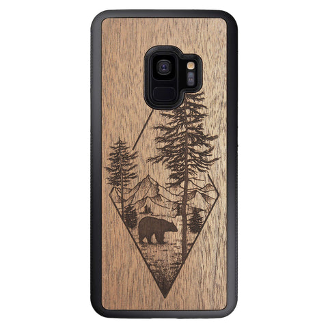 Wooden Case for Samsung Galaxy S9 Woodland