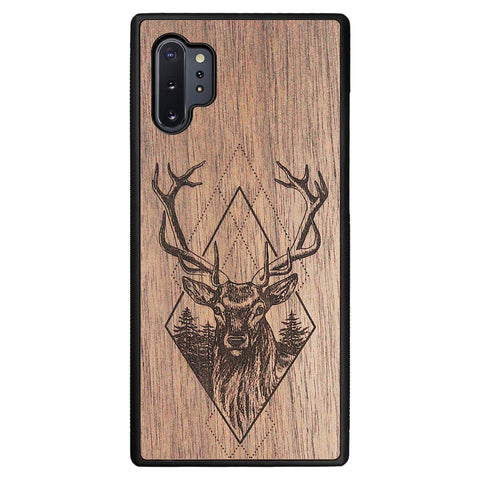 Wooden Case for Samsung Galaxy Note 10 Plus Deer