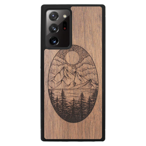 Wooden Case for Samsung Galaxy Note 20 Ultra Landscape