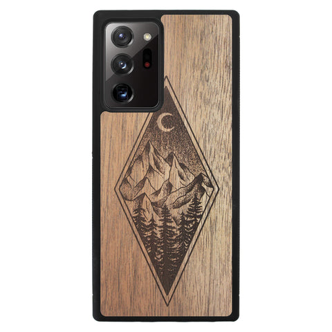 Wooden Case for Samsung Galaxy Note 20 Ultra Mountain Night