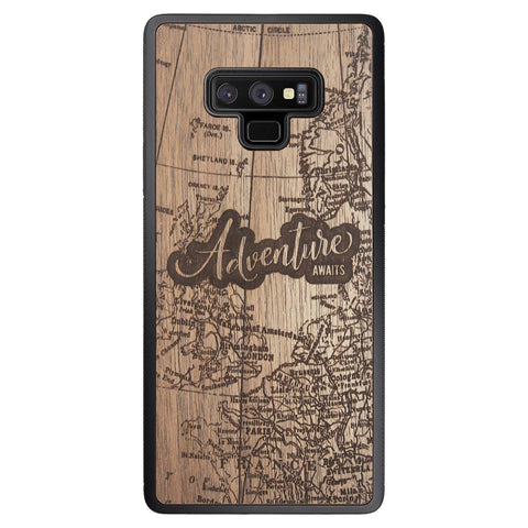 Wooden Case for Samsung Galaxy Note 9 Adventure Awaits