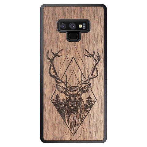 Wooden Case for Samsung Galaxy Note 9 Deer