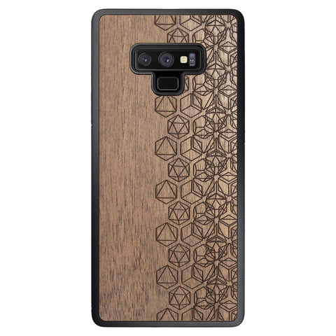 Wooden Case for Samsung Galaxy Note 9 Geometry