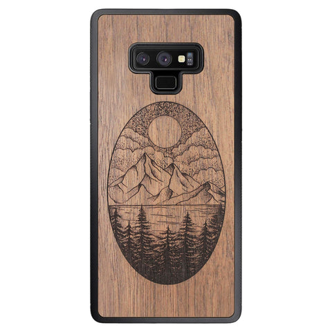 Wooden Case for Samsung Galaxy Note 9 Landscape