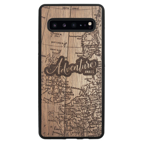 Wooden Case for Samsung Galaxy S10 5G Adventure Awaits