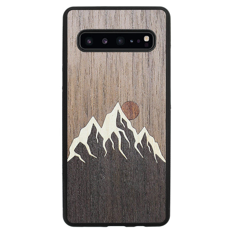 Wooden Case for Samsung Galaxy S10 5G Mountain