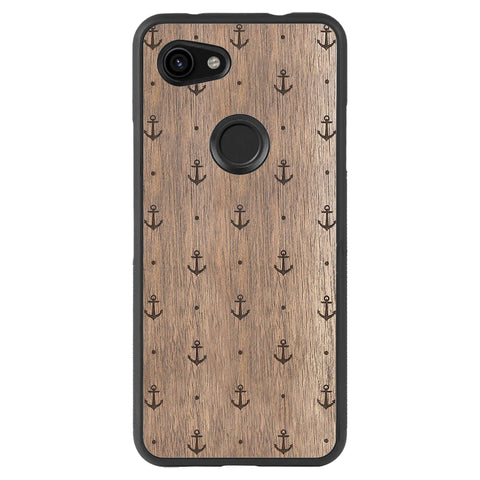 Wooden Case for Google Pixel 3A XL Anchor
