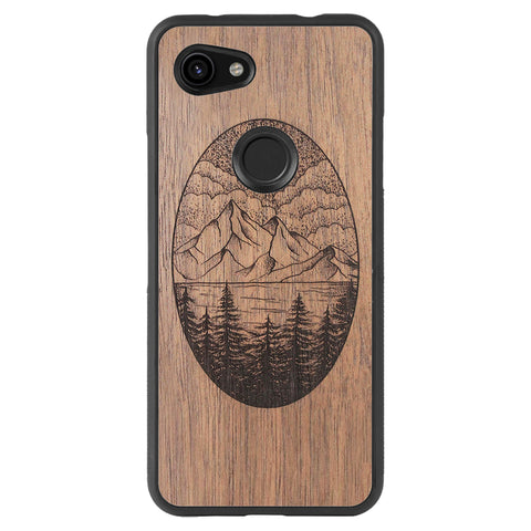 Wooden Case for Google Pixel 3A XL Landscape
