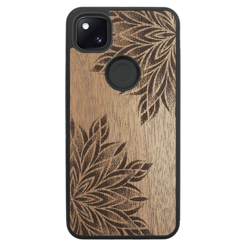 Wooden Case for Google Pixel 4A Mandalas
