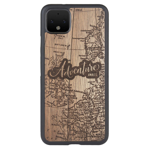 Wooden Case for Google Pixel 4 XL Adventure Awaits