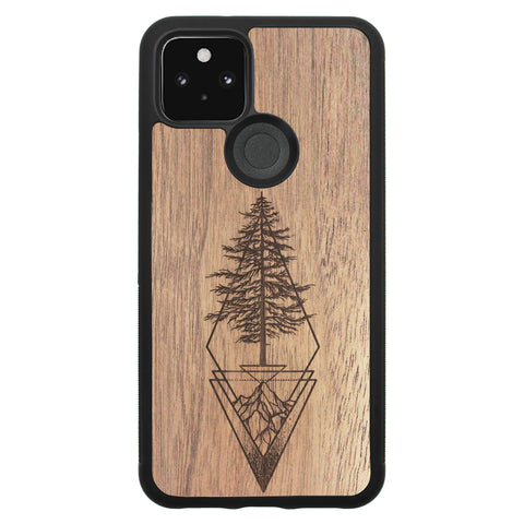 Wooden Case for Google Pixel 5 Picea