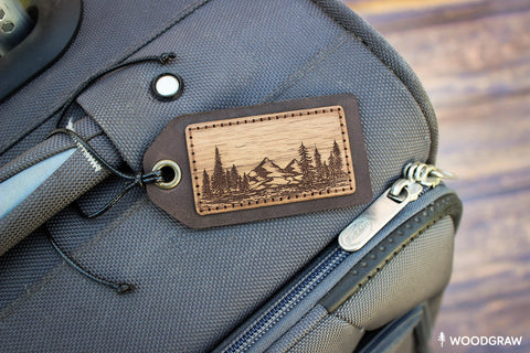 Nature - Travel Tag, Luggage Tag