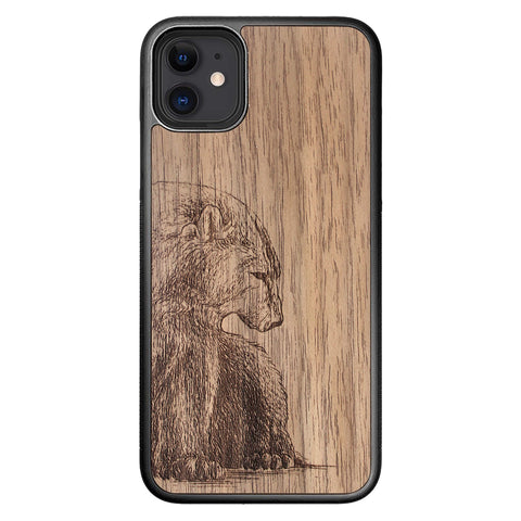 Wooden Case for iPhone 11 Bear