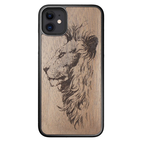 Wooden Case for iPhone 11 Lion