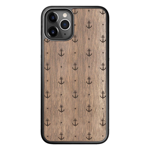 Wooden Case for iPhone 11 Pro Anchor