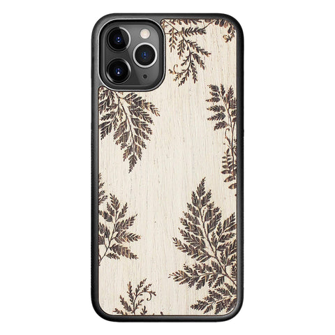 Wooden Case for iPhone 11 Pro Fern