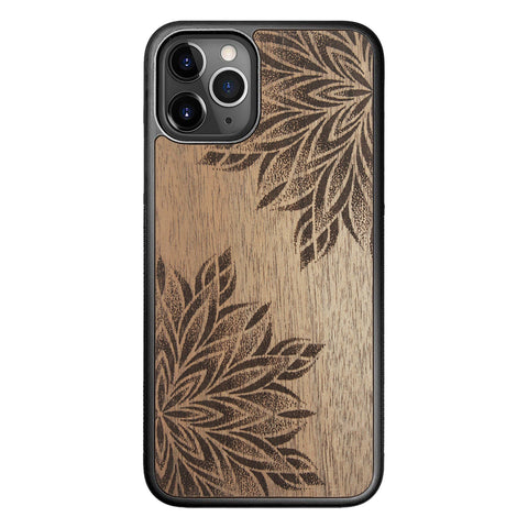 Wooden Case for iPhone 11 Pro Mandalas