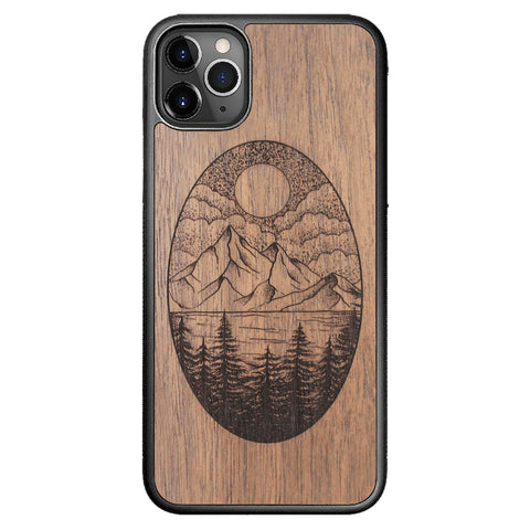 Wooden Case for iPhone 11 Pro Max Landscape