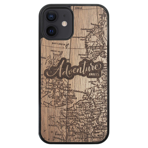 Wooden Case for iPhone 12 Adventure Awaits