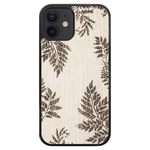 Wooden Case for iPhone 12 Fern